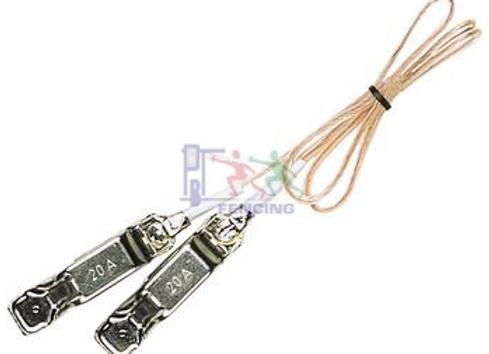 Elektrische kabel vest naar masker - sabel/floret