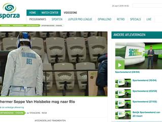 Schermer Seppe Van Holsbeke mag naar Rio