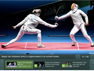"""Rio eindigt voor Van Holsbeke in 1/8e finales: """"Dit doet pijn"""""""