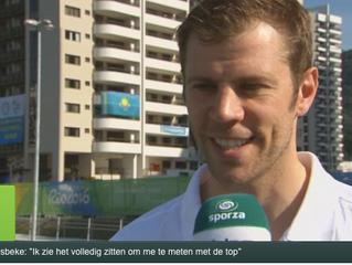 """Schermer Seppe Van Holsbeke: """"Hopelijk ben ik de outsider op het podium"""""""