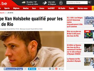 Seppe Van Holsbeke qualifié pour les jeux de Rio