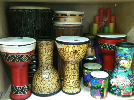 Drum circles brighten my day.