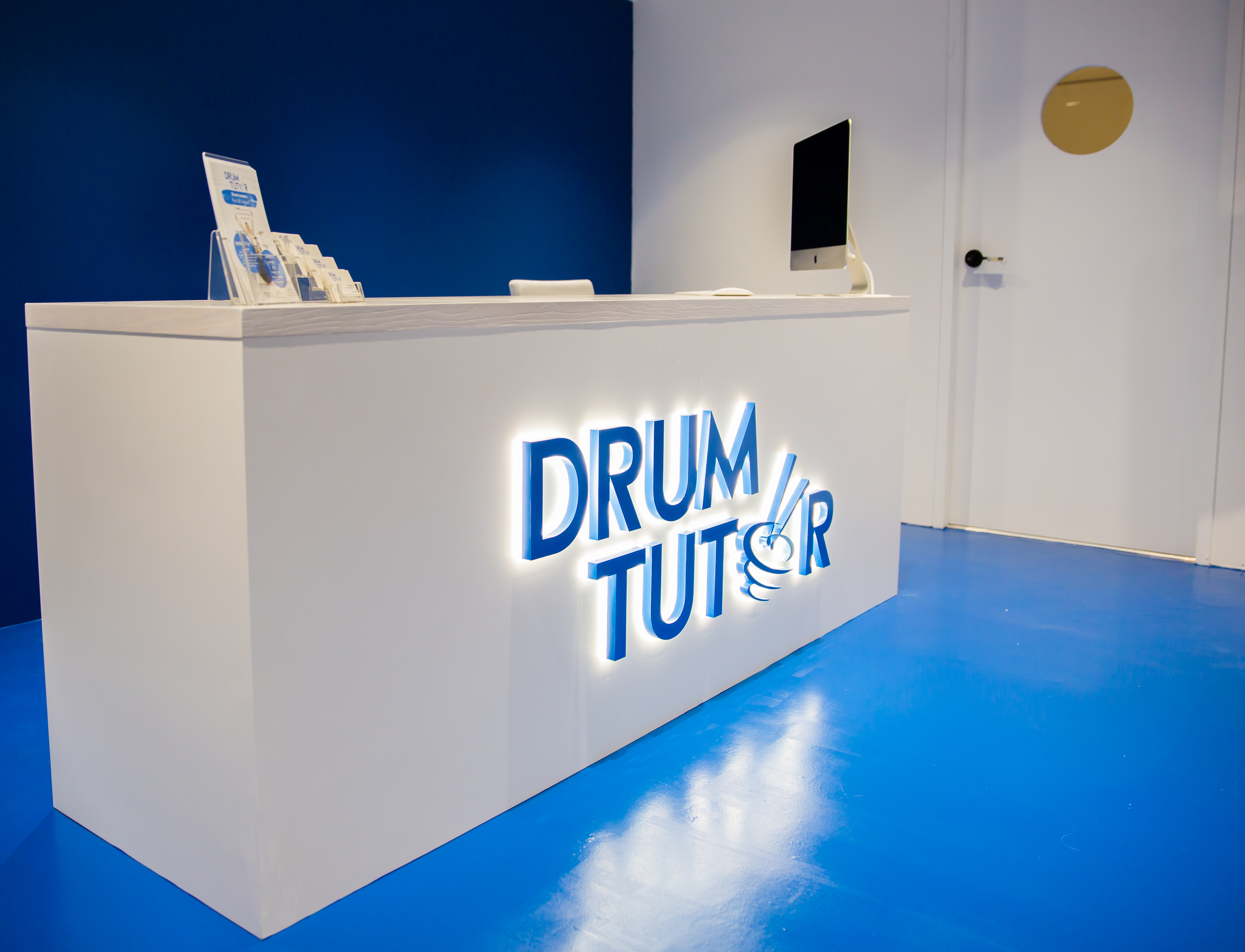 Drum Tutor Reception Area