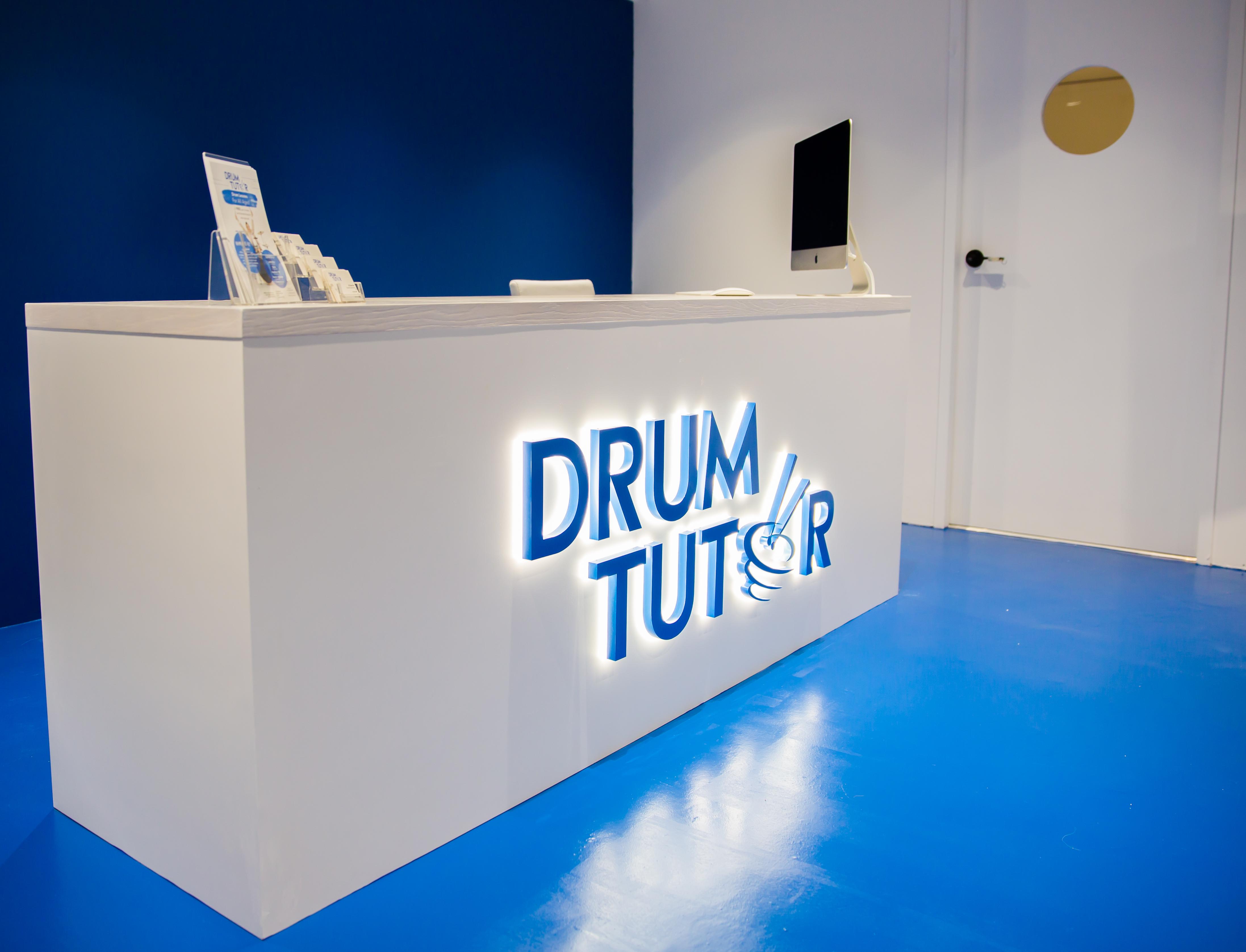 Drum Tutor Reception Area
