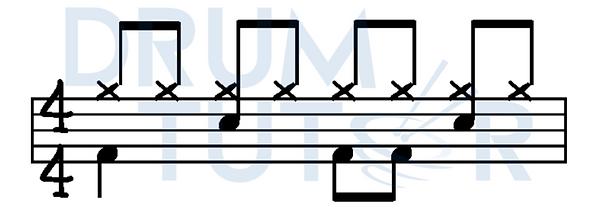 beginner drum programme