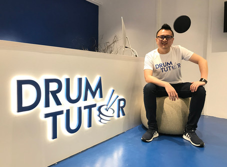 Drum Tutor on The Business Times