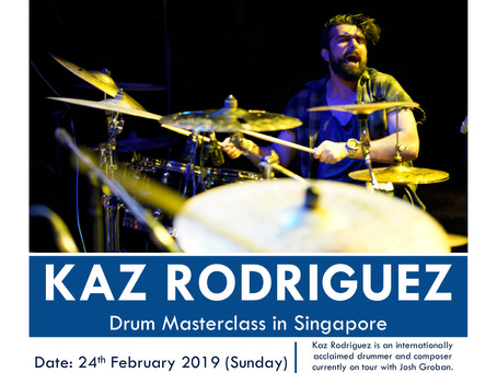 Kaz Rodriguez @ Drum Tutor