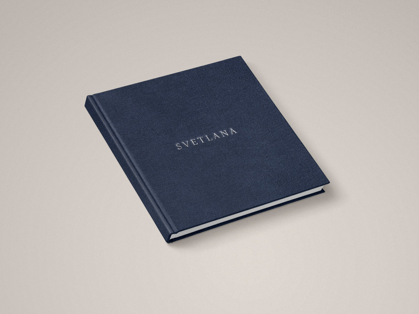 Special edition of the photo book  «Svetlana» for Paris Photo, 21 copies,  photo and text  – Mary Gelmna, Design – Ruslan Knyazev, printed in Saint-Petersburg, 2018