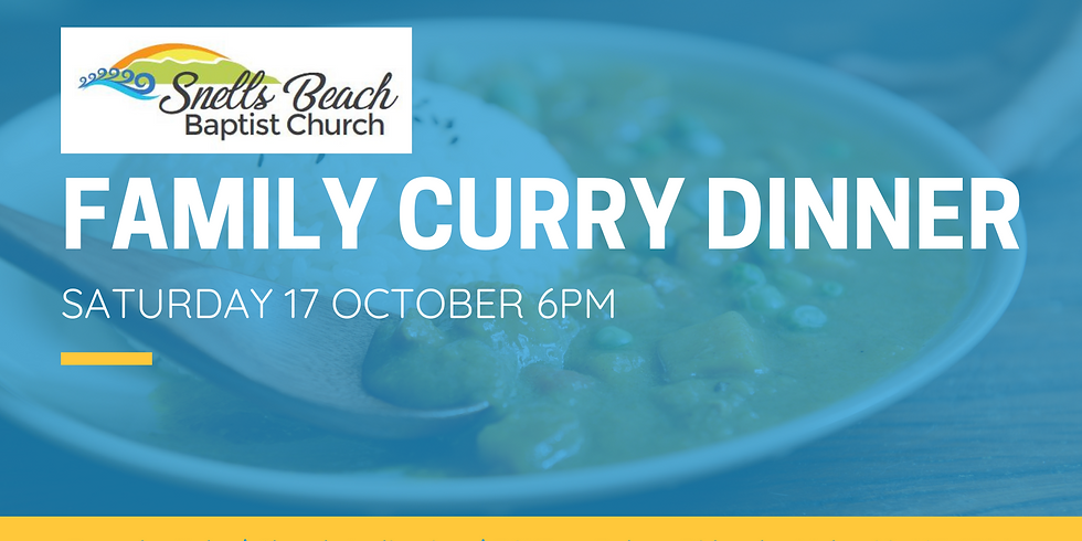 Family Curry Dinner