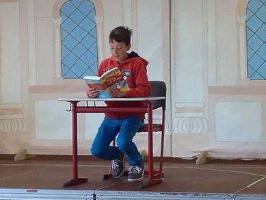 Vorlesewettbewerb Grundschule Köppern