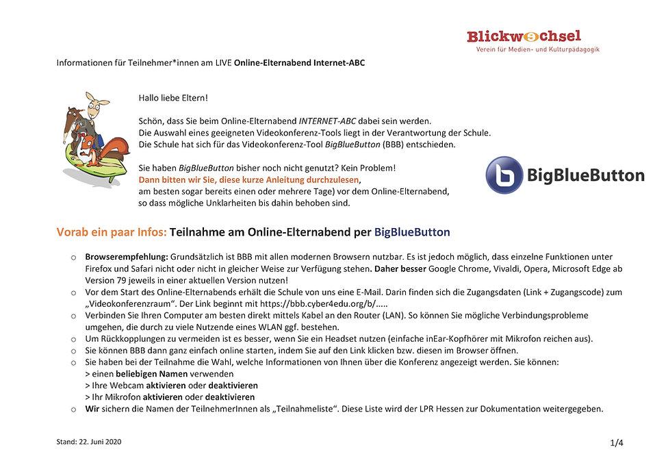 Infoblatt_BigBlueButton_Online_Elternabe