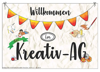 Kreativ AG Grundschule Köppern