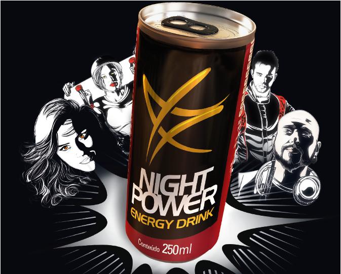 Embalagem Night Power