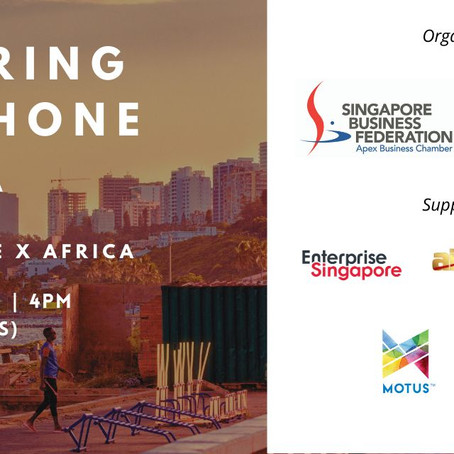 "Seminar ""Exploring Lusophone Africa"", a partnership with SBF and Enterprise Singapore"