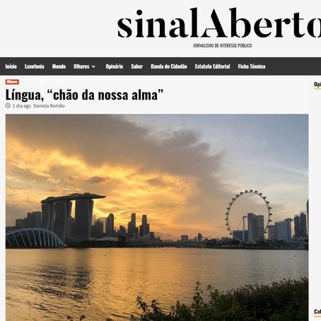 Opinion article, Sinal Aberto