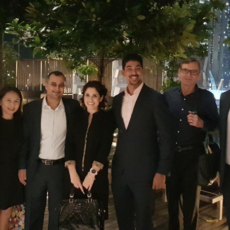 Annual Christmas Cocktail reception of the Singapore Venture Capital & Private Equity Association