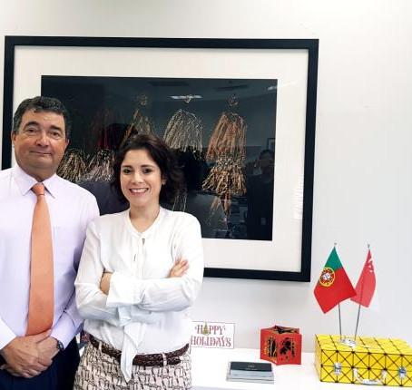 Farewell to Portuguese Ambassador, Dr. Luís João de Sousa Lorvão