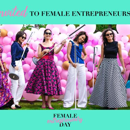 Female Entrepreneur Day, 2019
