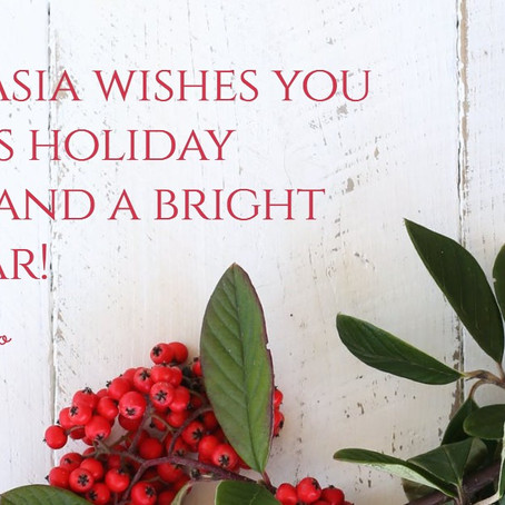 Wishing all our partners, clients, friends and families a safe, healthy, and prosperous new year!