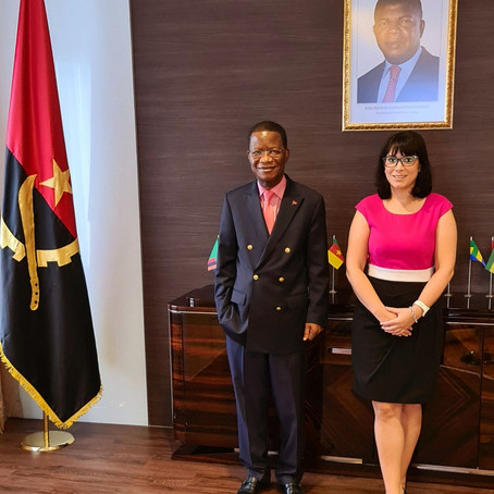 Meeting with the new Ambassador of Angola in Singapore