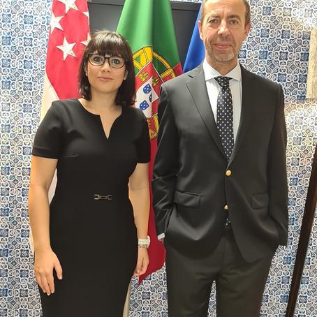 Reception to the new Portuguese Ambassador in Singapore, Mário Rui dos Santos Miranda Duarte