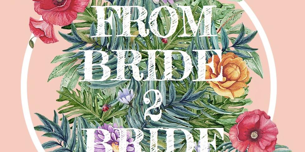 From Bride 2 Bride - DER Hamburger Hochzeitsflohmarkt