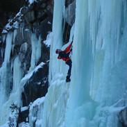 Cascade de Glace - Ice climbing