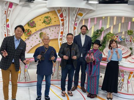 1月11日のOHKミルンの生放送に出演しました。