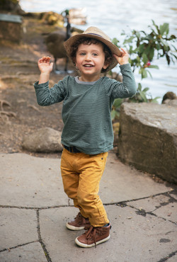 kid with hat