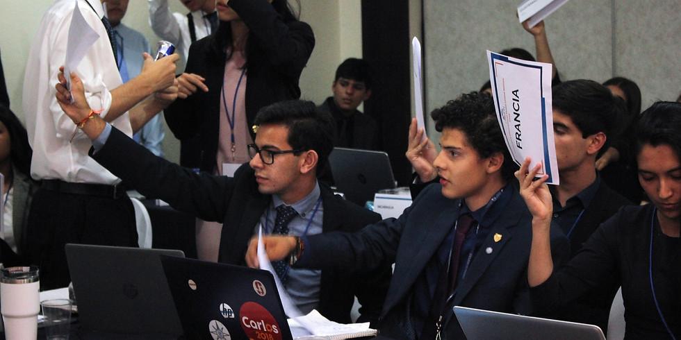 Delegate Preparation Program, Group 4