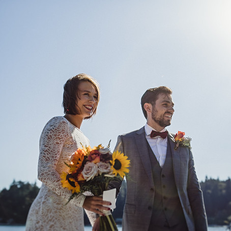 Brooke and Rosario's Scenic Elopement at the Pointhouse on Sargeant Bay - Sunshine Coast, BC