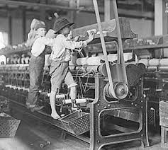 Children working in Victorian Mill