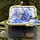 Thumbnail: Blue Grey & Black Herringbone Coin Purse