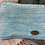 Thumbnail: Painty Blue Zig Zag Zip Pouch
