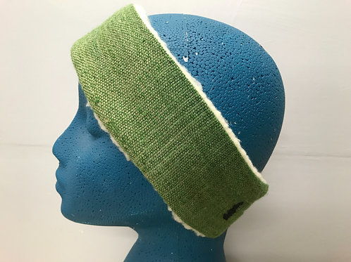Green painted headband