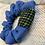 Thumbnail: Black, Green & Yellow Check Band Scrunchie