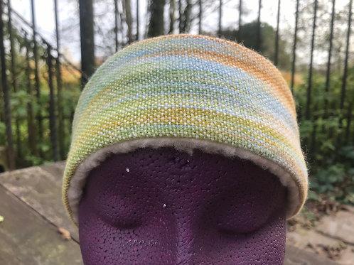 Glastonbury Tor Painty Winter Headband