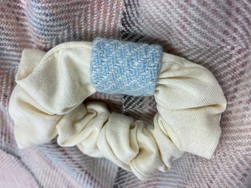 Blue Diamond Band Scrubchie