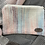 Thumbnail: Pink, Blue & Ivory Painty Zip Pouch
