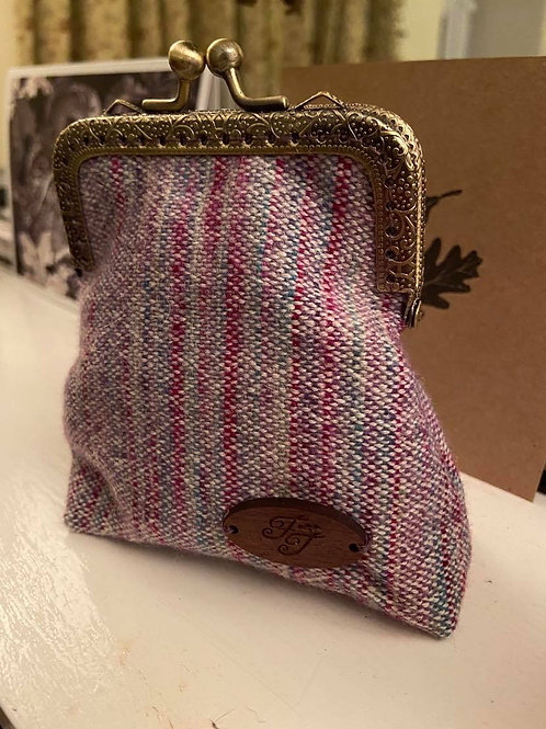 Pink & Purple Painty Coin Purse