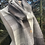 Thumbnail: Natural British Wool Check Scarf
