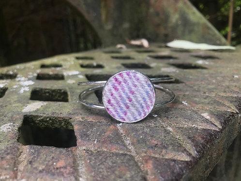 Pink & Purple Painty Bangle