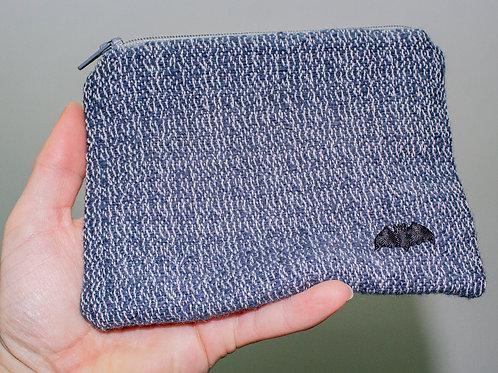 Dark Blue Zip Pouch
