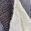 Thumbnail: Black & Pink Painty Herringbone Winter Headband