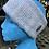Thumbnail: Blue Grey Painty Winter Headband