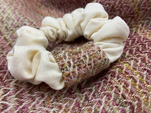 Autumnal Painty Band Scrunchie