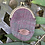 Thumbnail: Purple & Green Herringbone Mini Round Coin Purse