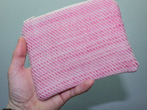Pink Painty Zip Pouch