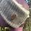 Thumbnail: Grey & Black Painty Winter Headband