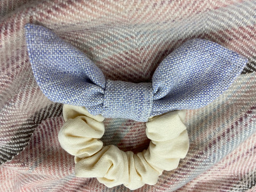 Pale Purple Bow Scrunchie